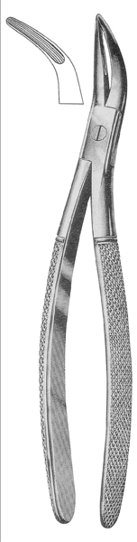 Extracting Forceps Root Fragment Forceps