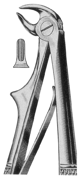 Wisdom Teeth Extracting Forceps