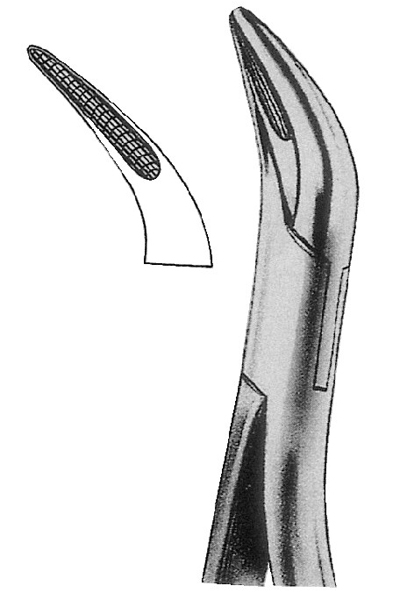 Root Splinter Forceps Extraction Tweezer